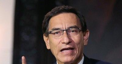 """La Nación / Vizcarra cuestiona """"legalidad y legitimidad"""" del nuevo presidente de Perú"""