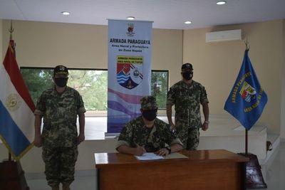 Cambio del segundo de a bordo en el Área Naval de Itapúa