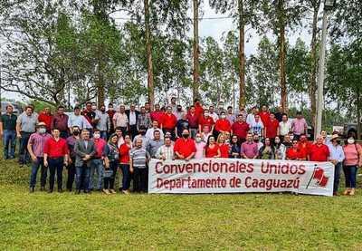 HOY SE REUNIERON CONVENCIONALES DEL CAAGUAZÚ