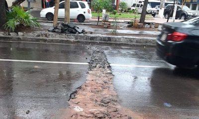 Muni de Asunción reclamó a la Essap la destrucción del recapado