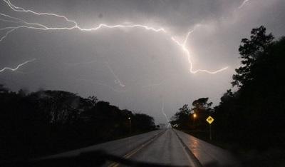 Seguirán las lluvias y se esperan tormentas eléctricas