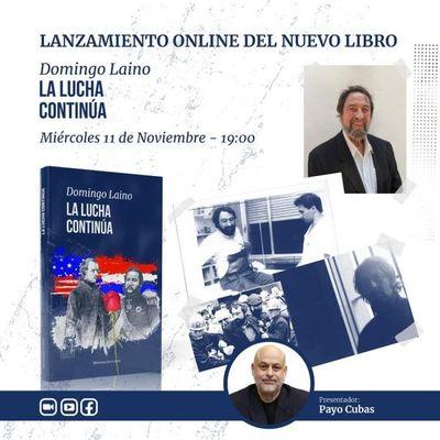Presentación online de libro de Domingo Laino
