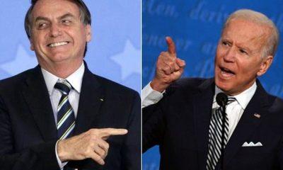 """(Video) Bolsonaro amenaza a Joe Biden: """"Brasil tiene pólvora"""""""