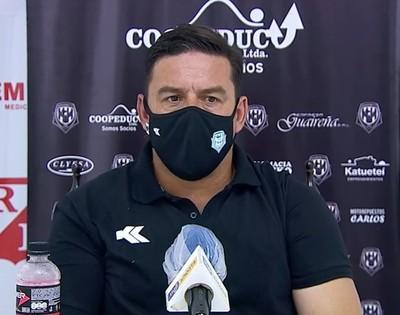 Troadio Duarte valora el triunfo ante River Plate