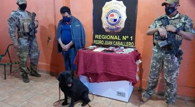 Dos detenidos por venta de crack en San Gerardo