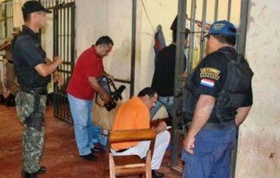 Incautan drogas en poder de un reo en la Penitenciaría Regional