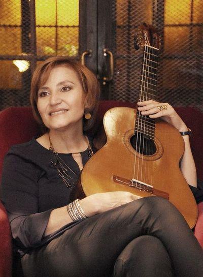 "Berta en ""Guitarras del mundo"""