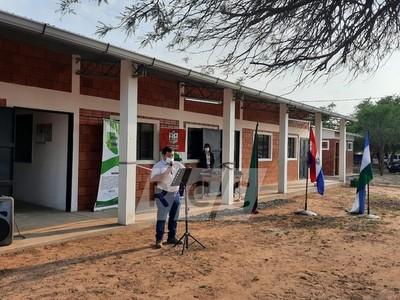 Neuland: Inauguran aulas, sanitarios y comedor en Escuela Básica Acosta Ñu