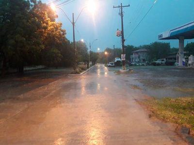 Grandes precipitaciones en Alto Paraguay