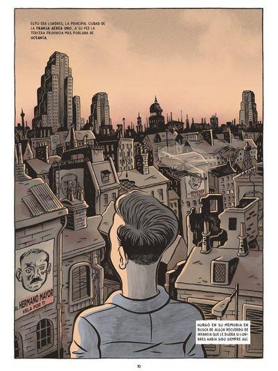 """""""1984"""", la distopía de Orwell se vuelve cómic para recordarnos su mensaje"""