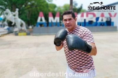 Pedro Juan Caballero tendrá  un campeón nacional de boxeo de la mano del ex monarca categoría liviano Luís Candia