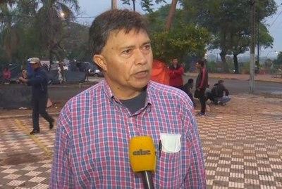"""""""Campesino VIP"""" lidera nuevamente marcha de labriegos en el centro de Asunción"""
