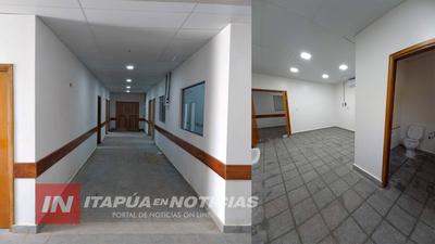 FLAMANTE PABELLÓN DE TRAUMATOLOGÍA FUE INAUGURADO EN EL HRE