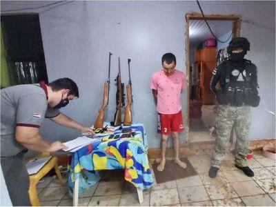 Detienen a brasileño con orden de captura por tráfico de drogas