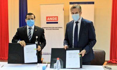 ANDE acuerda préstamo de US$ 250 millones para programa de mejoramiento