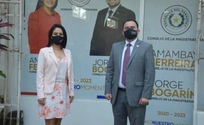 TSJE rechazó impugnación de candidatura de la dupla Bogarín-Ferreira y lo habilita para elecciones