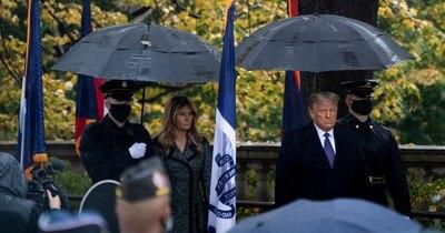La Nación / Primera aparición oficial de Trump tras la derrota