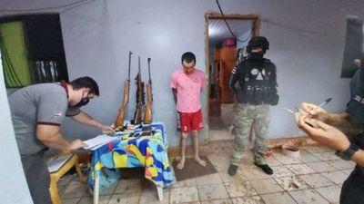 Detienen a narco brasileño con orden de captura en su país