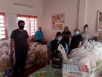 Gobernación distribuyó más de 1.150.000 kilos de alimentos a instituciones educativas de Pilar