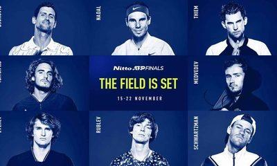 Así llegan los ocho mejores tenistas al torneo de maestros de Londres