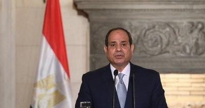 """La Nación / Presidente egipcio: """"El terrorismo es un fenómeno sin relación con la religión"""""""