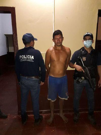 Detienen a presunto abigeo, implicado en asesinato de Policía