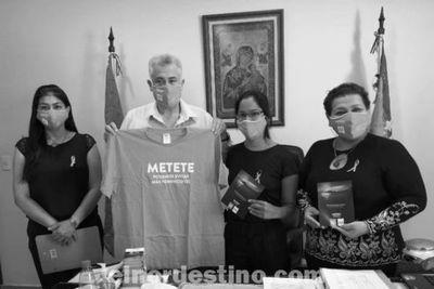 Municipalidad de Pedro Juan Caballero intensificará la Concienciación del día de la No Violencia contra la Mujer
