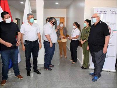 Habilitan bloque de Traumatología en el Hospital Regional de Encarnación