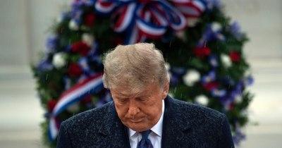 La Nación / Trump y Biden honran por separado a los veteranos