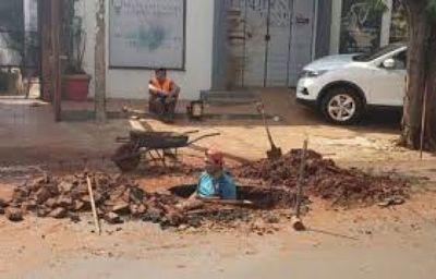 Municipios mandan al frente a Essap ante reclamos por baches