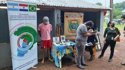 Capturan y expulsan a brasileño buscado por narcotráfico y otros crímenes en su país