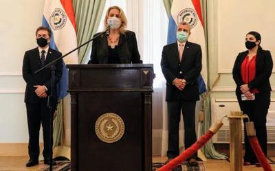 Cramer a Itaipú y Casco a la STP