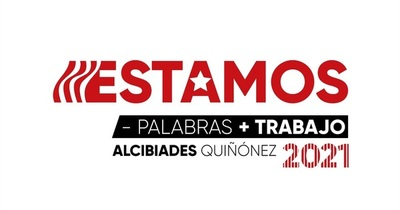 El flyer de campaña pro 2021 de Quiñonez