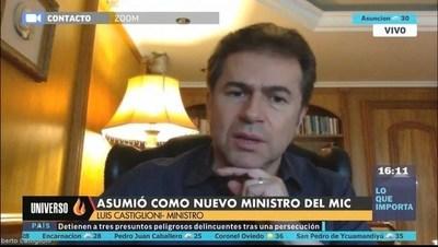 """""""Quiero salir a acompañar el trabajo de las industrias y los servicios"""", aseveró Luis Castiglioni"""