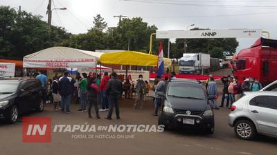 TRABAJADORES DE FRONTERA LLEGAN A UN ACUERDO CON EL GOBIERNO Y LEVANTAN BLOQUEO A PUERTOS