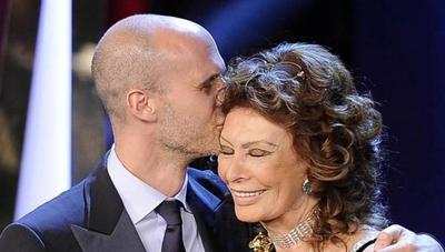 """HOY / Edoardo Ponti: """"Sophia Loren nunca se rinde y a los 86 años es una lección"""""""