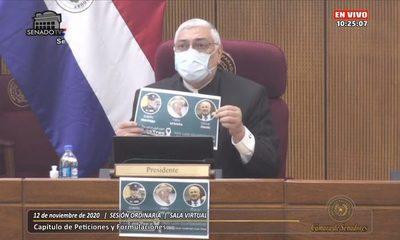 Senadores acompañan pedido de Cumbre de Poderes para fijar estrategias ante flagelo del secuestro