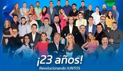 """""""Telefuturo"""" cumple 23 años como líder de la televisión paraguaya"""