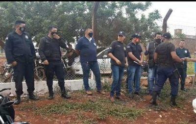 Desvinculación laboral genera protesta frente a la cárcel regional