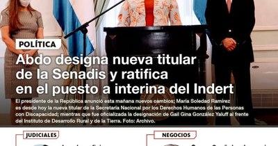 La Nación / LN PM: Las noticias más relevantes de la siesta del 12 de noviembre