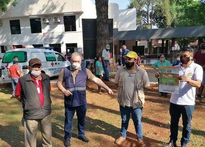 Charlas sobre prevención del dengue en la gobernación