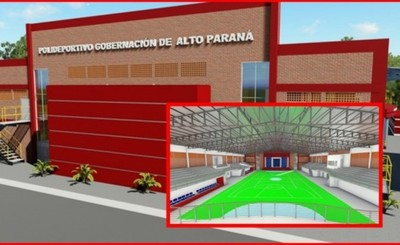 Construirán moderno polideportivo en sede de la Gobernación
