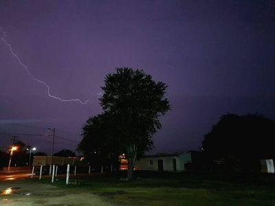 Meteorología pronostica tormentas eléctricas para cinco departamentos