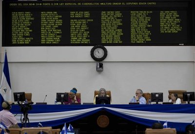 Sandinistas aprueban en Nicaragua una controvertida reforma a la Ley de Aguas