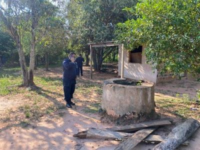 Víctima de supuesto parricidio fue arrojada a un pozo en Caaguazú