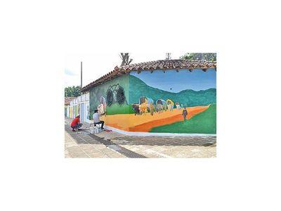 Construyendo un paseo cultural en el centro de la Villa Serrana