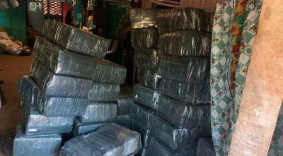 Policía Nacional incauta 20 toneladas de marihuana en San Pedro