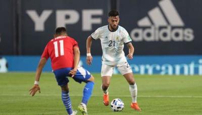 Paraguay y Argentina igualaron 1-1 por las Eliminatorias Sudamericanas