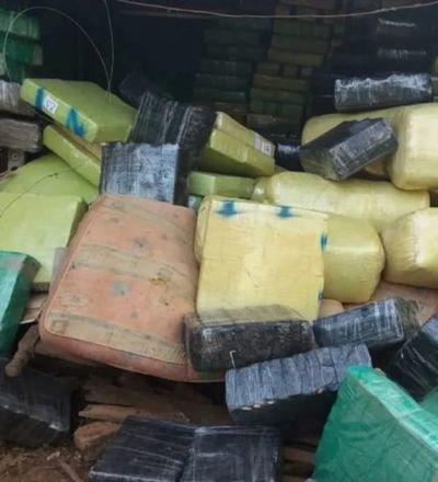 San Pedro: Cae casi 20.000 kilos de marihuana