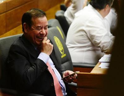 Juez otorga libertad al diputado Cuevas y lo habilita a ocupar su banca